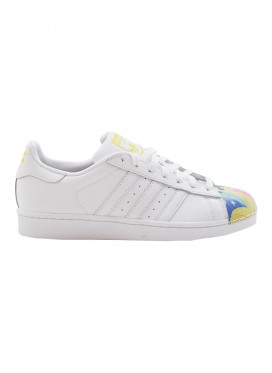 ADIDAS ORIGINALS Кроссовки Mr. SUPERSTAR SUPERSHELL белые