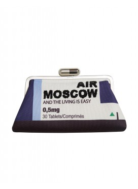 "SARAH'S BAG clutch ""AIR MOSCOW"""