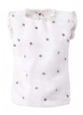 JUPE by JACKIE Top White Lady