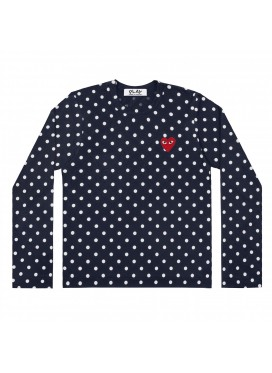 COMME DES GARCONS PLAY T-Shirt Women Polka Dot