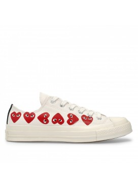 Comme des Garcons Play Converse Chuck Taylor All Star '70 Low (Off White)