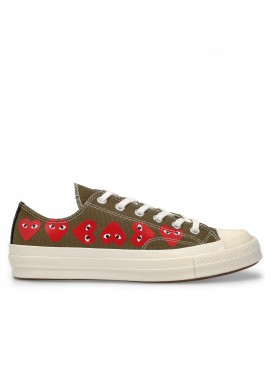 Comme des Garcons Play Converse Chuck Taylor All Star '70 Low (Khaki)