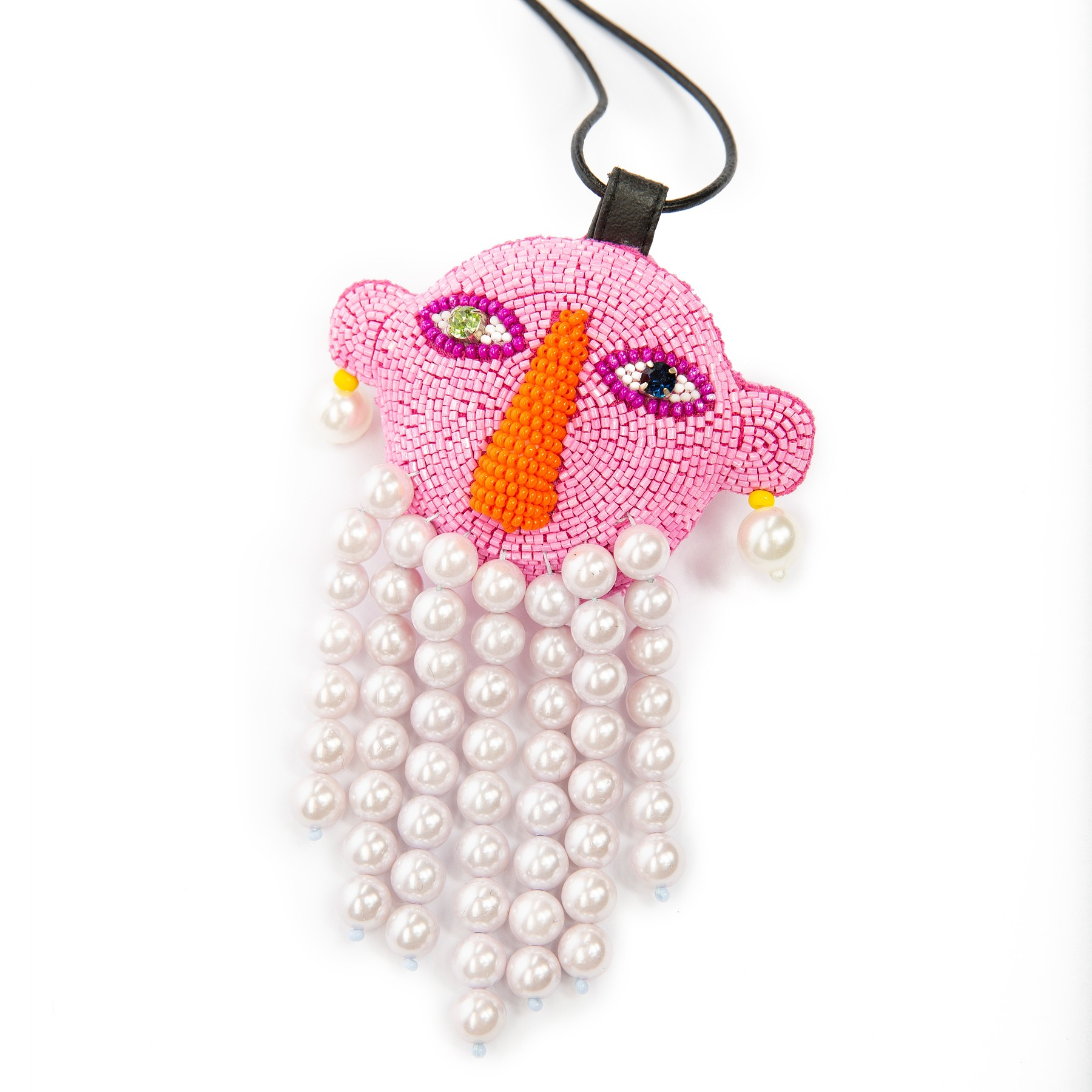 WALTER VAN BEIRENDONCK - WALTER VAN BEIRENDONCK BEARD NECKLACE