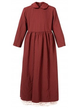 COMME DES GARCONS GIRL BURGUNDY DRESS