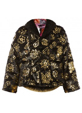 COMME DES GARCONS TRICOT GOLD EMBROIDERY JACKET