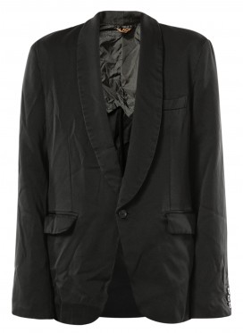 COMME DES GARCONS BLACK JACKET WITH SHAWL COLLAR