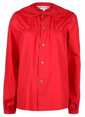 COMME DES GARCONS GIRL RED BLOUSE