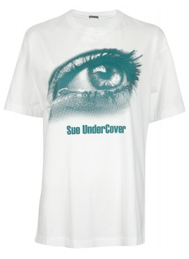 SUE UNDERCOVER WHITE T-SHIRT PRINT EYE
