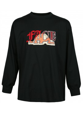 FACETASM BLACK FACE LONGSLEEVE