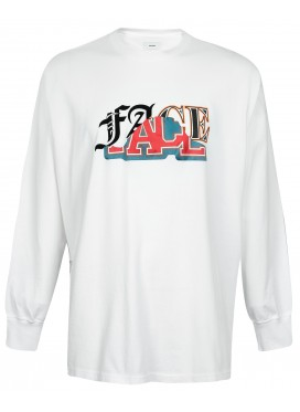 FACETASM WHITE FACE LONGSLEEVE