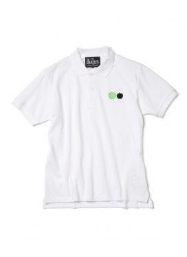 The BEATLES X COMME DES GARCONS The BEATLES x COMME DES GARCONS WHITE POLO T-SHIRT
