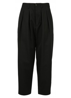 COMME DES GARCONS TRICOT BLACK COTTON PANTS