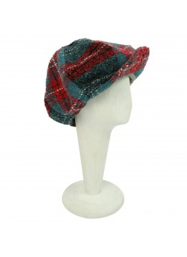 CHARLES JEFFERY LOVERBOY КЕПКА MOHAIR TARTAN