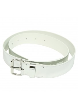 MM6 MAISON MARGIELA BUCKLE SILVER BELT