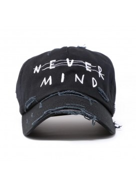 "AZS TOKYO КЕПКА ""NEVER MIND"" DISTRESSED"