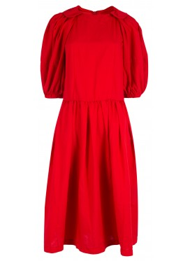 COMME DES GARCONS GIRL POLYESTER RED DRESS
