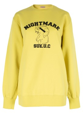 SUE UNDERCOVER YELLOW SWEATSHIRT