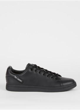 RAF SIMONS-ORION BLACK LOW-TOP SNEAKERS