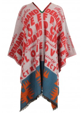 WALTER VAN BEIRENDONCK W:A.R. PONCHO I