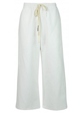 MELITTA BAUMEISTER WHITE STRUCTURED LOUNGE PANTS