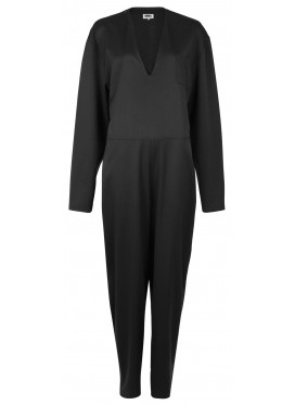 MM6 MAISON MARGIELA OVERALLS BLACK