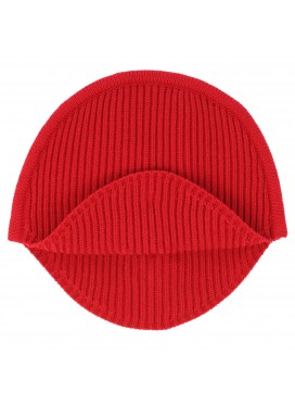 MM6 MAISON MARGIELA RIBBED KNIT RED HAT