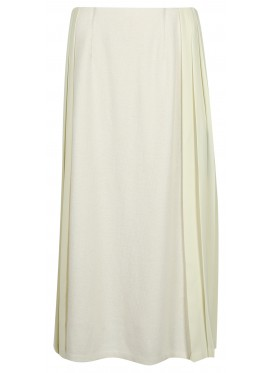 SUE UNDERCOVER WHITE PLEATED SKIRT