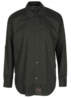 ALMOSTBLACK BLACK DOUBLE SHIRT