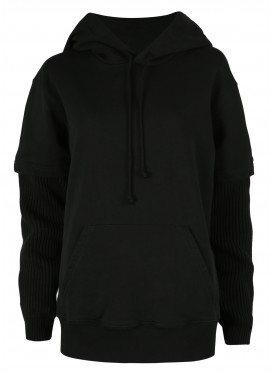 MM6 MAISON MARGIELA BLACK HOODY