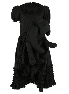 COMME DES GARCONS GIRL KUMA DRESS