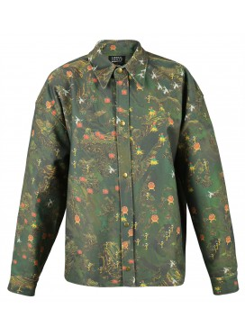 LIBERAL YOUTH MINISTRY MODEL NATURE DENIM SHIRT