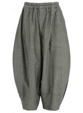 COMME DES GARCONS BLACK WOOL GRAY TROUSERS