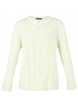 A-COLD-WALL BEAM HENLEY WHITE LONGSLEEVE