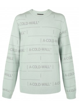 A-COLD-WALL CHAIN JACQUARD KNIT