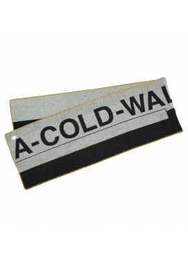 A-COLD-WALL LARGE LOGO GRAY SCARF