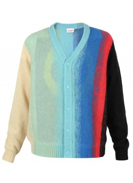 CHARLES JEFFERY LOVERBOY OMBRE CARDIGAN