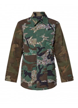 """DRYCLEANONLY """"Military"""" jacket"""