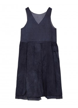 SARA LANZI grey dress