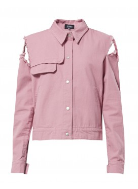 ZDDZ pink denim jacket