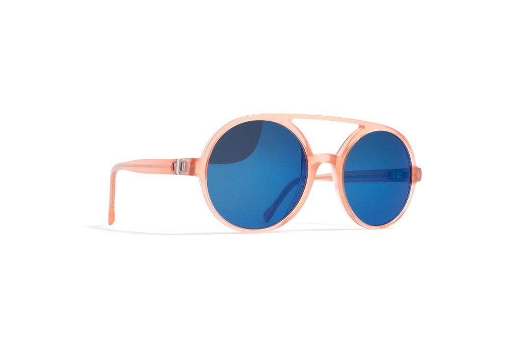 MYKITA - MYKITA NO2 WYNONA Sunglasses - misty peach/blue