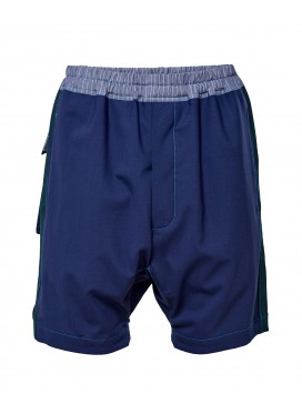 BERNHARD WILLHELM navy shorts