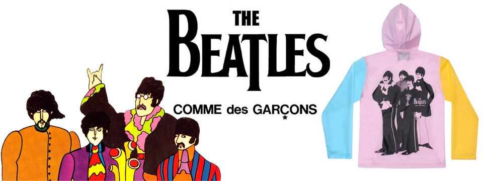 COMME DES GARCONS x THE BEATLES