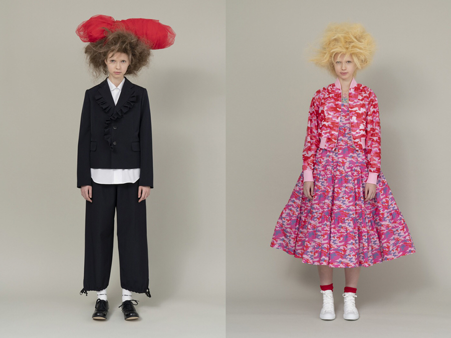 COMME DES GARCONS GIRL SS21